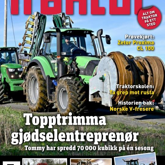 traktormagasinet cover